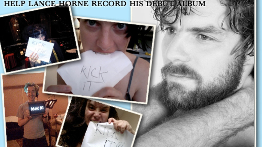 """Kick Me! Fund My Debut Album, """"FIRST THINGS LAST"""" project video thumbnail"""