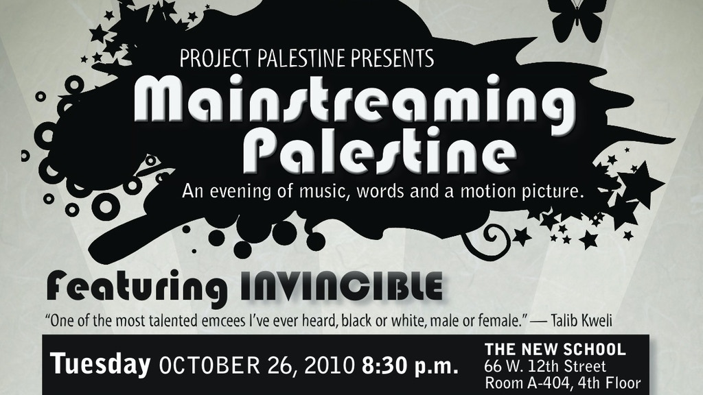 Project Palestine: A Paradigm-Shifting Event project video thumbnail