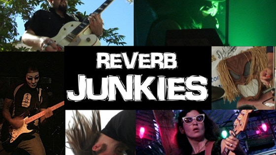 Reverb Junkies, a feature film documentary on surf music. project video thumbnail