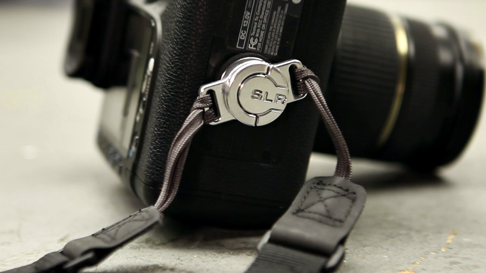 C-Loop is a camera strap solution that improves a photographer's shooting experience by eliminating strap interference.