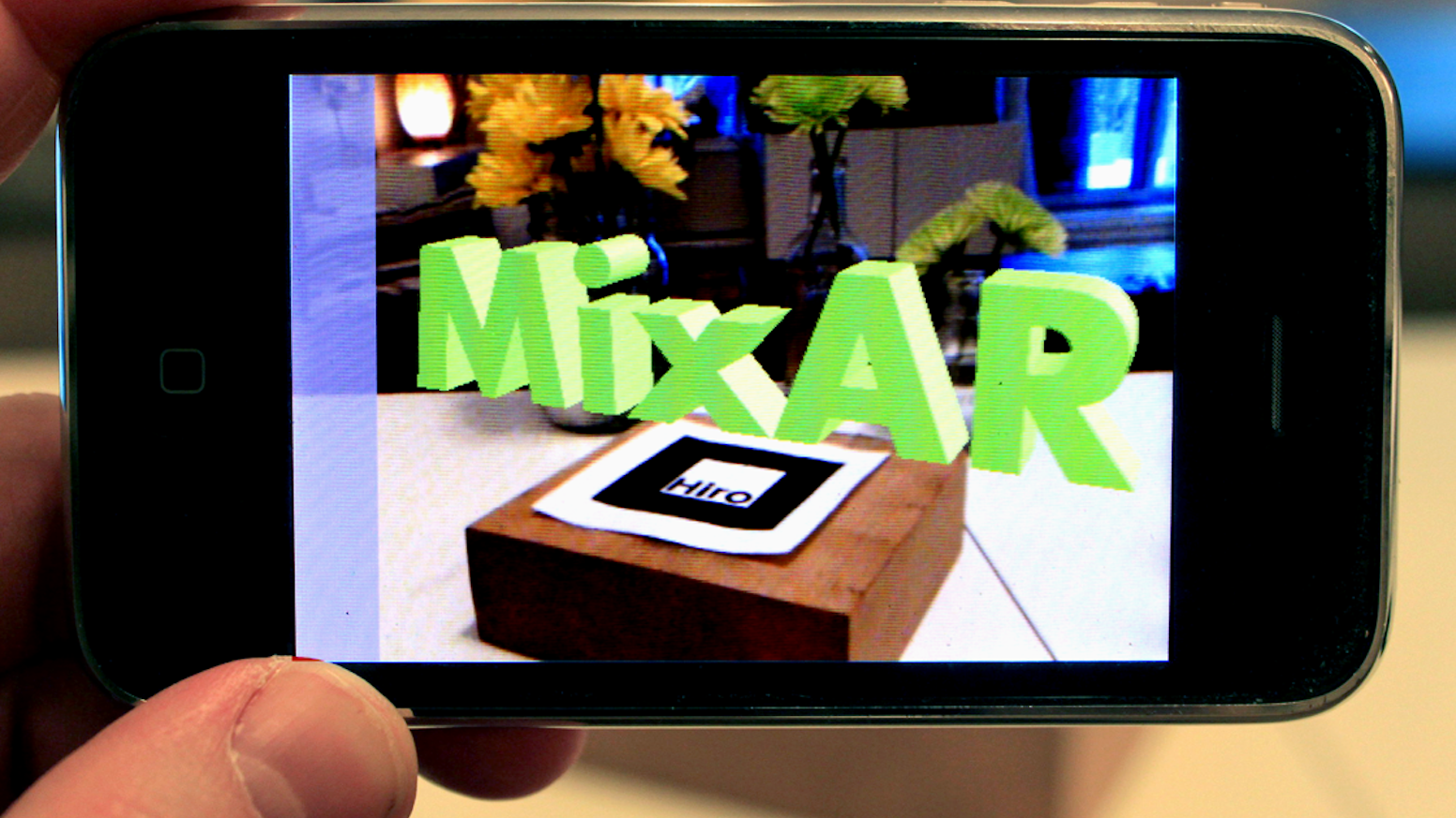 augmented reality 3d text