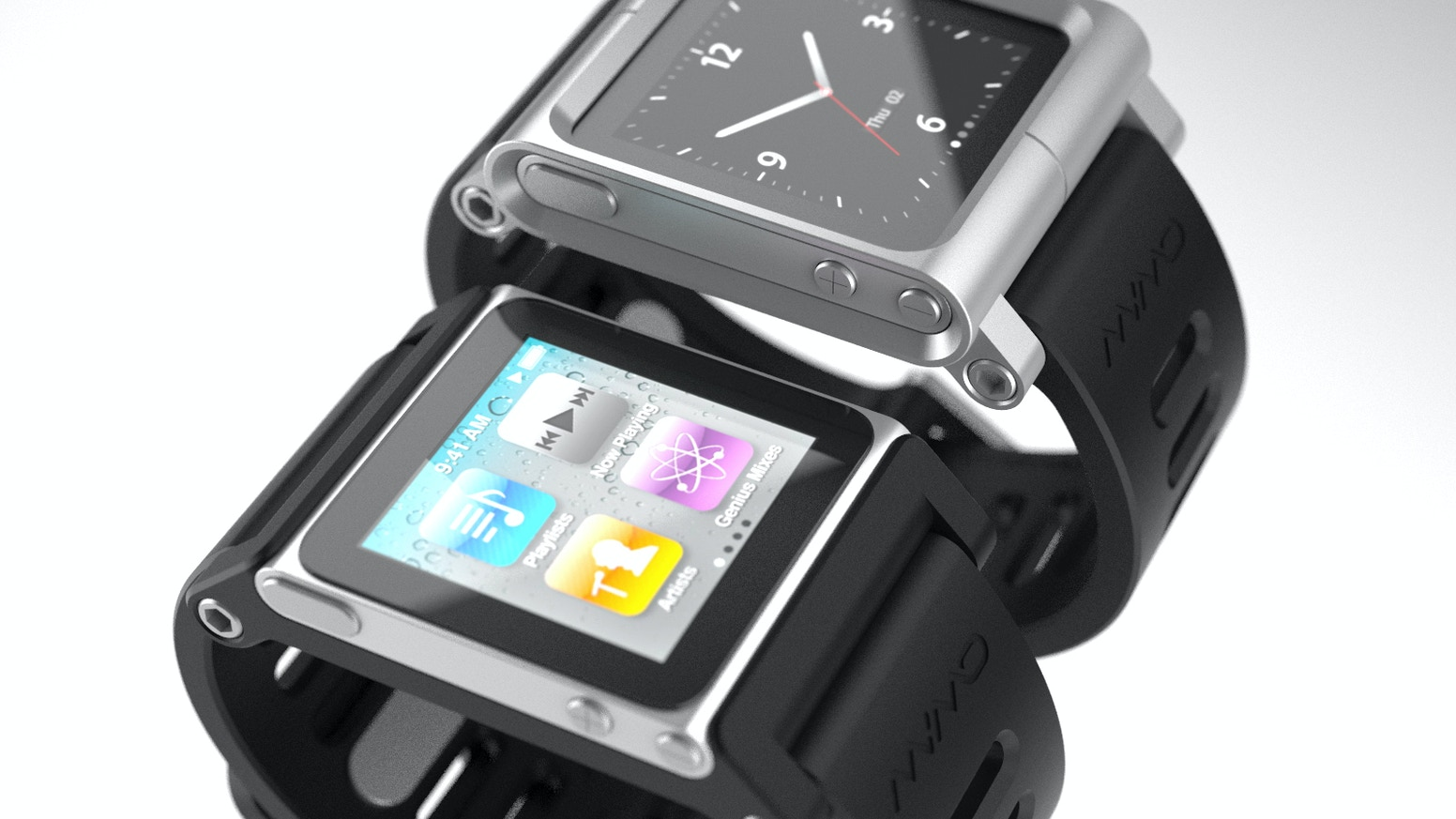 Transform Your Ipod Nano Into The World S Coolest Multi Touch Watches With Tiktok Lunatik
