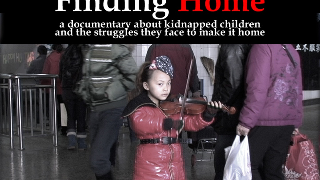 """""""Finding Home"""" - Documentary on Kidnapped Children in China project video thumbnail"""