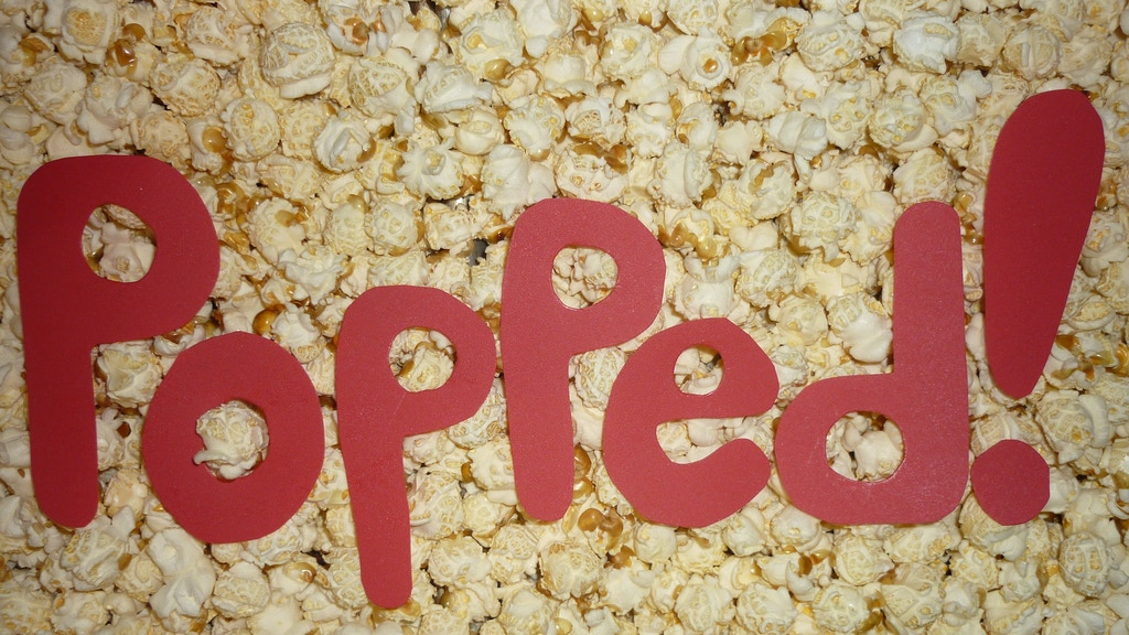 Popped! Great Popcorn Made with Real Ingredients project video thumbnail