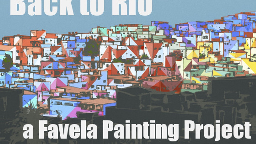 Painting an entire favela in Rio de Janeiro project video thumbnail