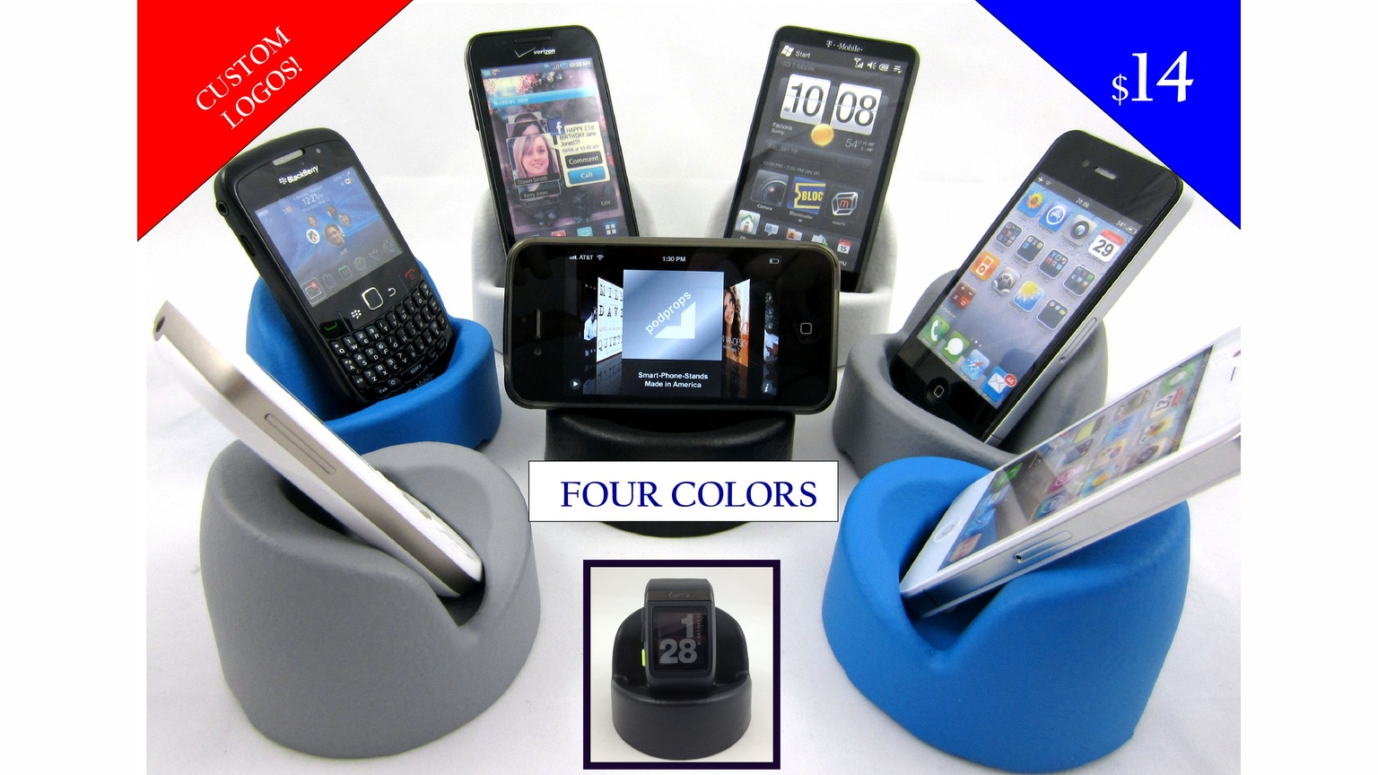 USA Made Soft Smartphone Stand IPhone