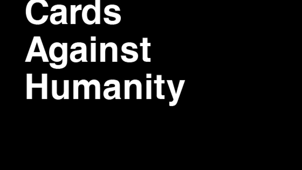 Cards Against Humanity project video thumbnail