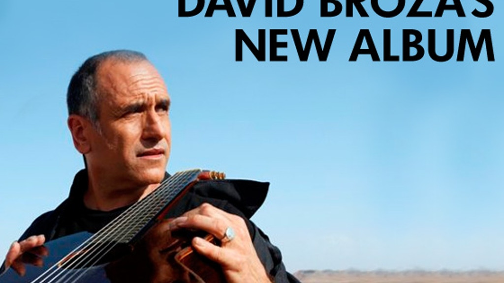Come Be A Part Of David Broza's New Album project video thumbnail