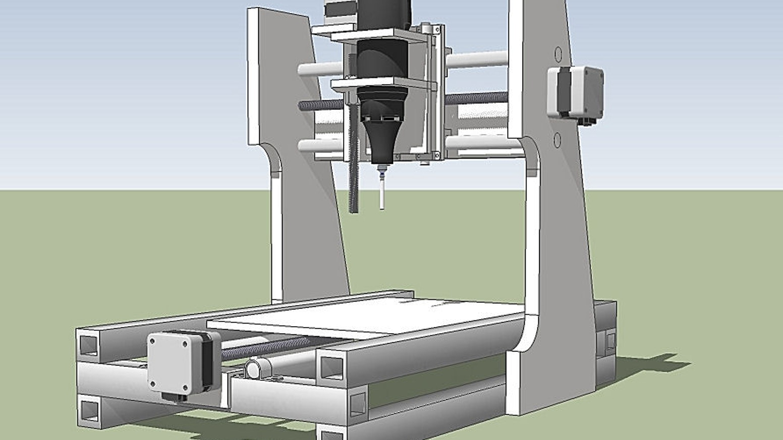 Diy Desktop Cnc Machine By Stephen Kickstarter