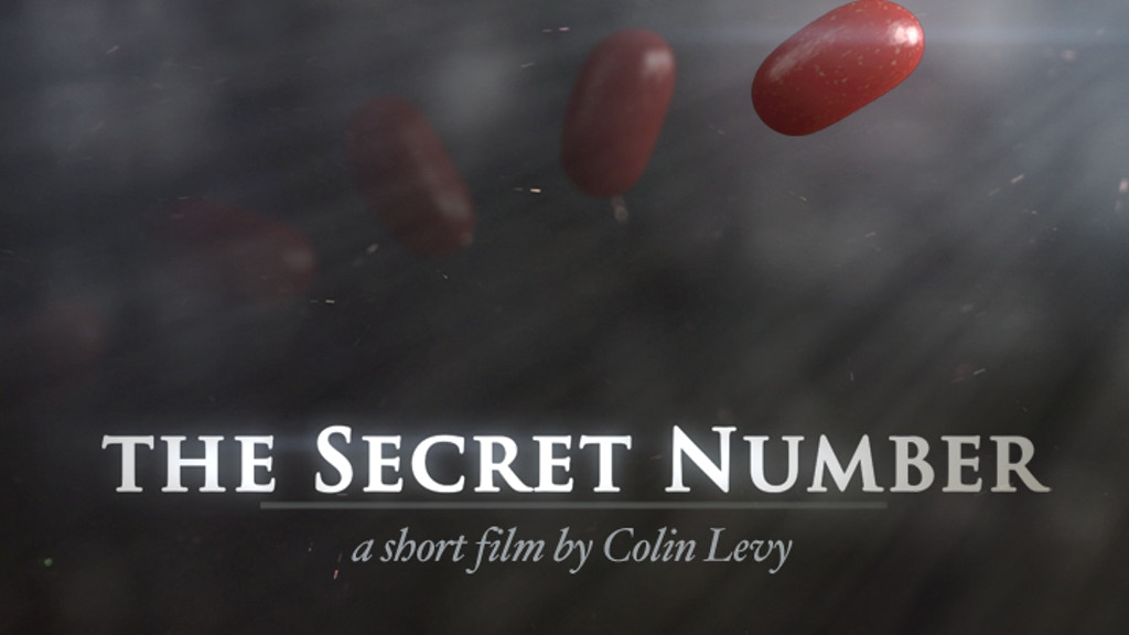 THE SECRET NUMBER // short film project video thumbnail