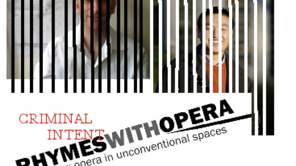 Rhymes With Opera: Criminal Intent project video thumbnail