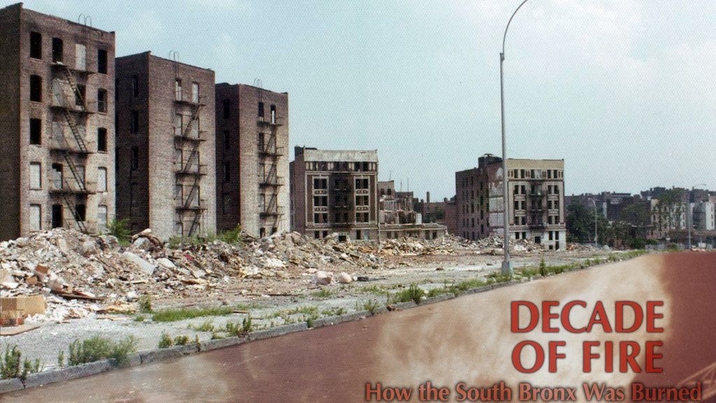 Decade of Fire: How the South Bronx Was Burned project video thumbnail