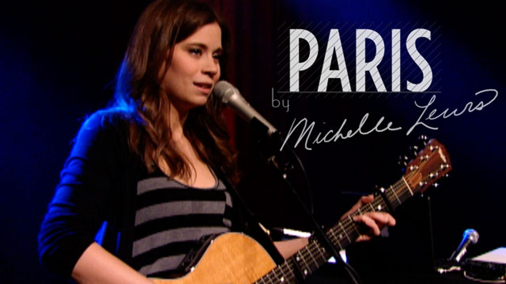 "Michelle Lewis records her new song, ""Paris"". project video thumbnail"