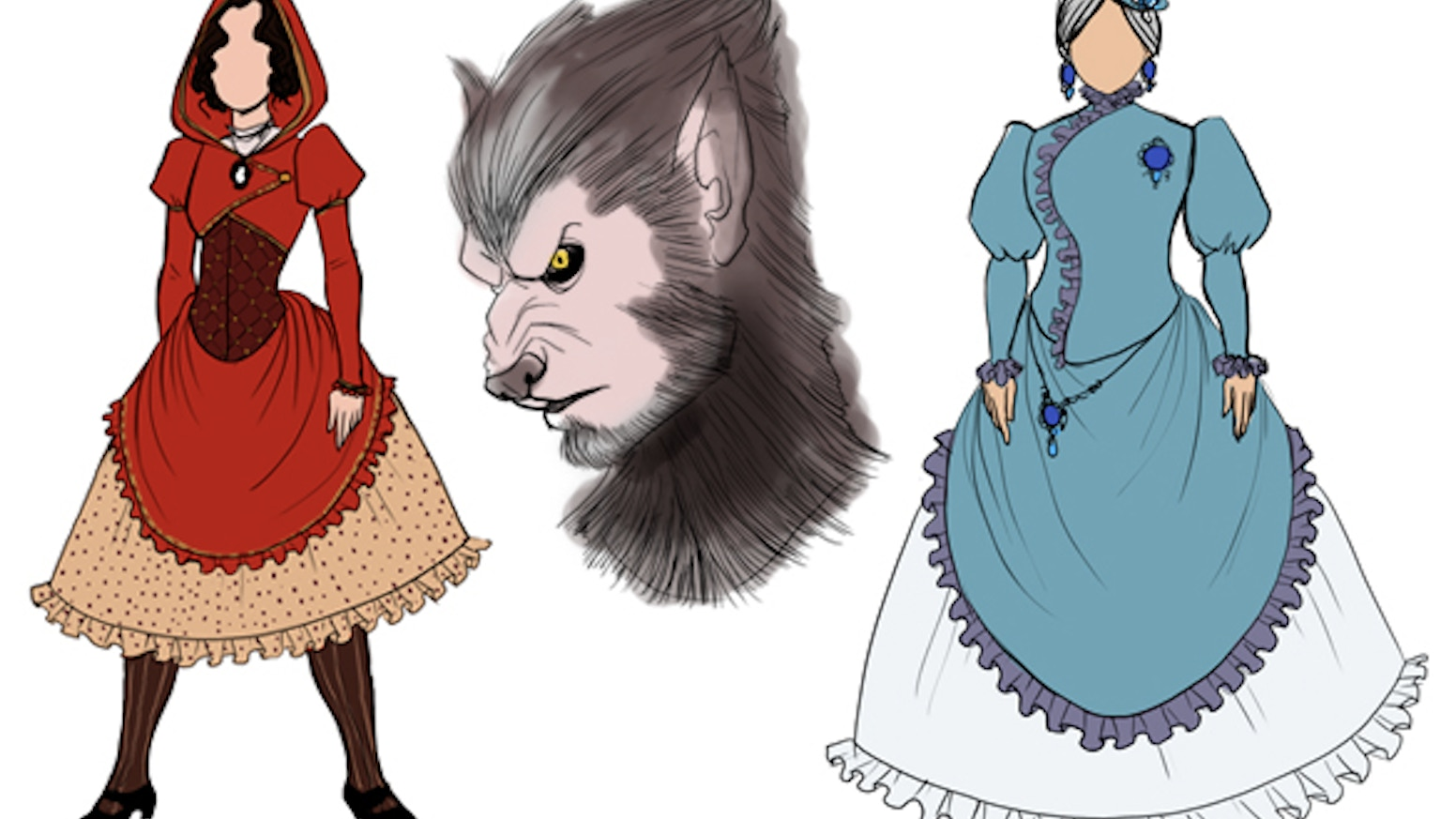 Costume Design Little Red Riding Hood By Alysa Avery Deleted