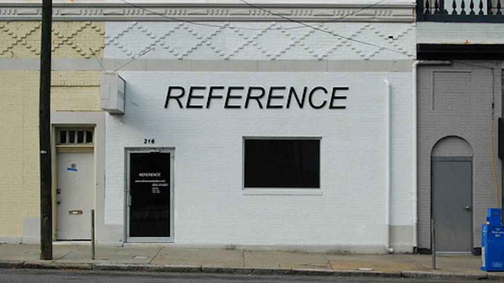 Reference Art Gallery project video thumbnail