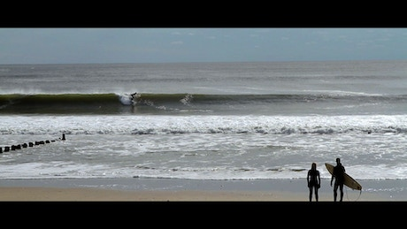 This Film Follows The Nyc Surf Community By Subway To Ride Rockaway Beach In Coldest