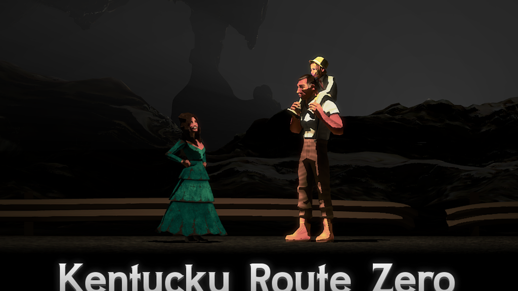 Kentucky Route Zero, a magic realist adventure game project video thumbnail