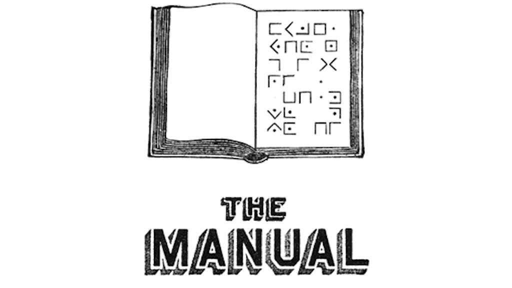 The Manual project video thumbnail