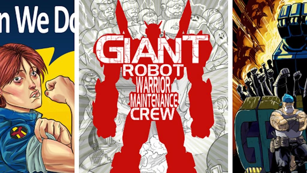 Giant Robot Warrior Maintenance Crew project video thumbnail