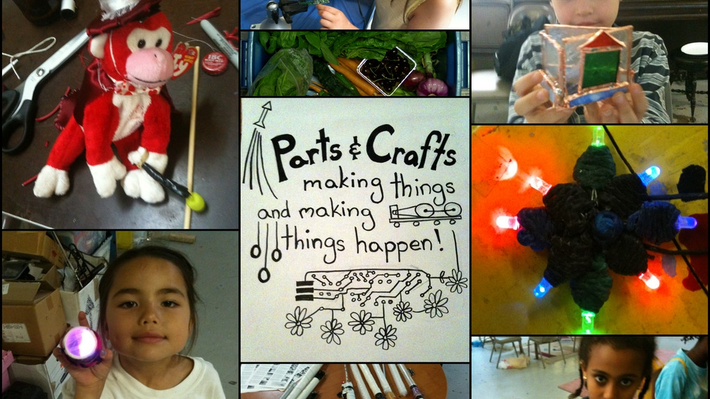 Parts and Crafts:  Community Supported Education project video thumbnail