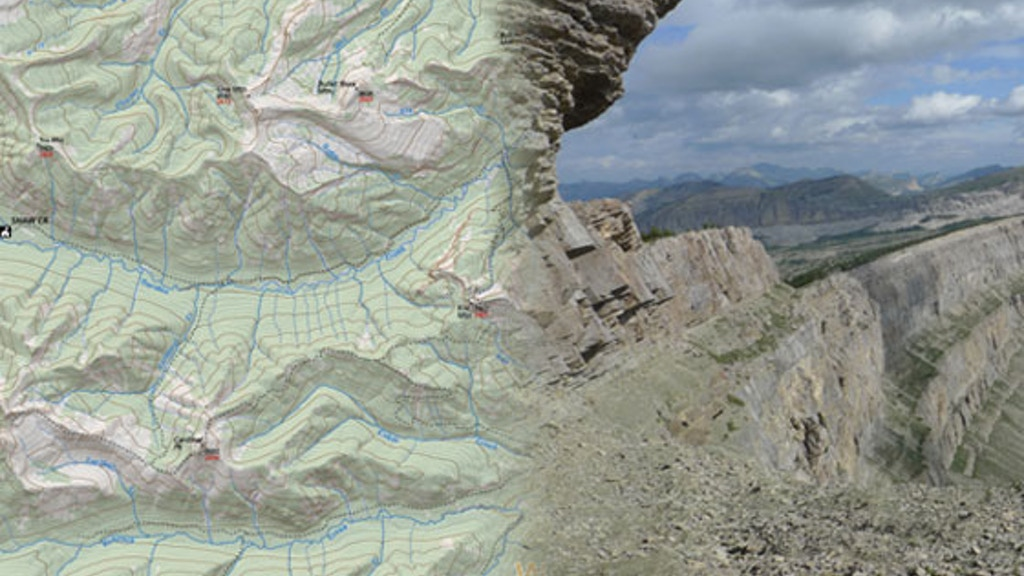 Outdoor Recreation Map of the Bob Marshall Wilderness project video thumbnail