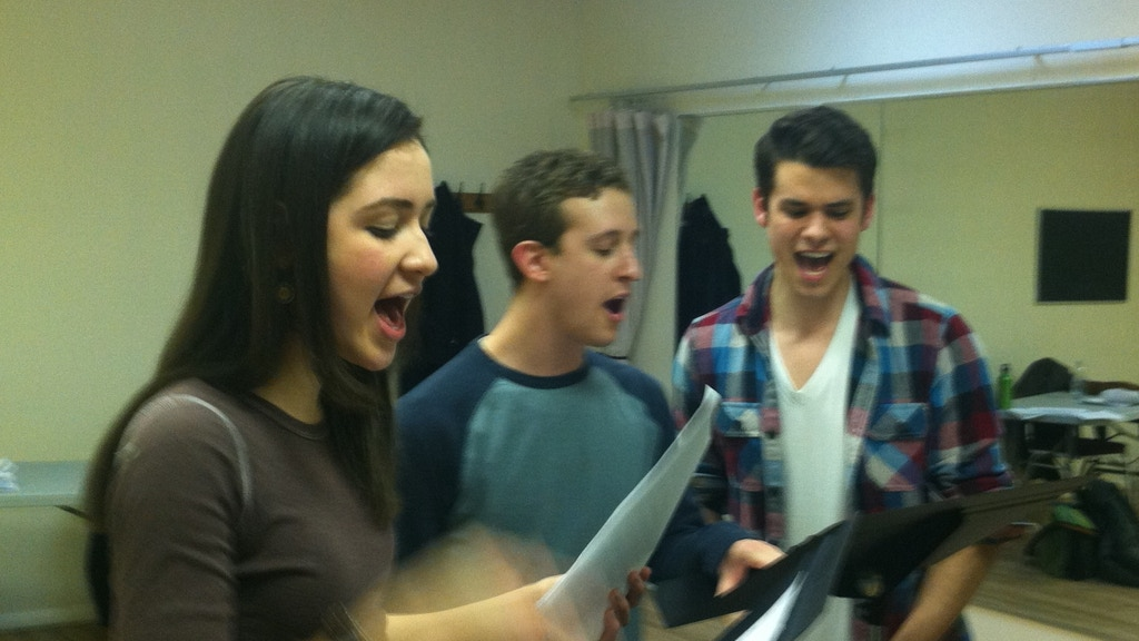 """""""The Perks of Writing a Musical"""" project video thumbnail"""