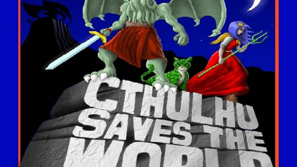 Cthulhu Saves the World enhanced version for PC & XBox 360 project video thumbnail