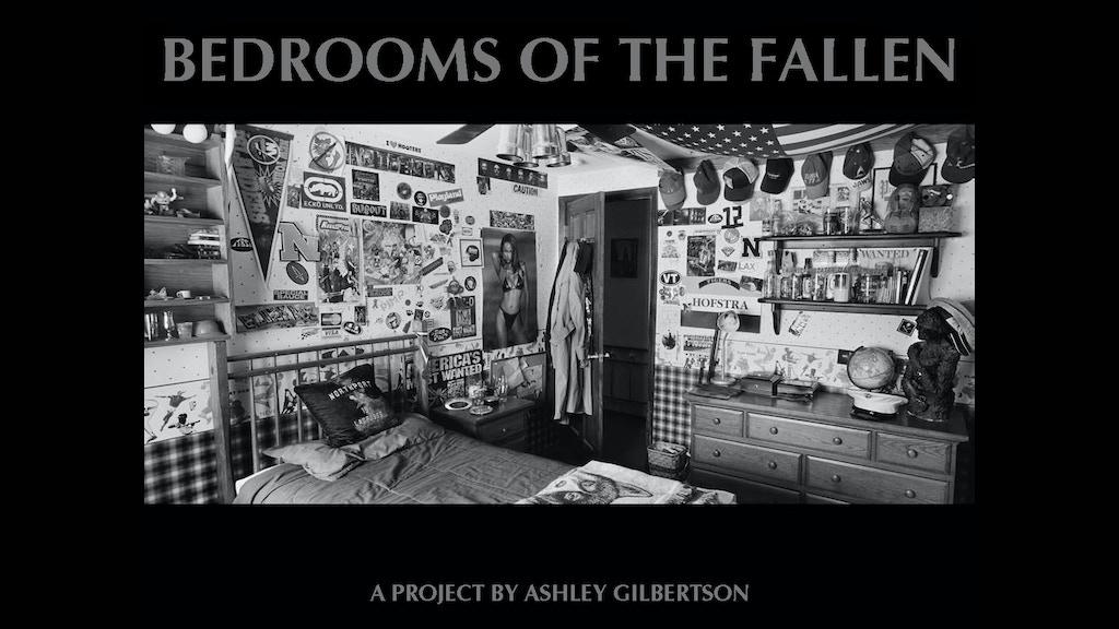 bedrooms of the fallen by ashley gilbertson kickstarter