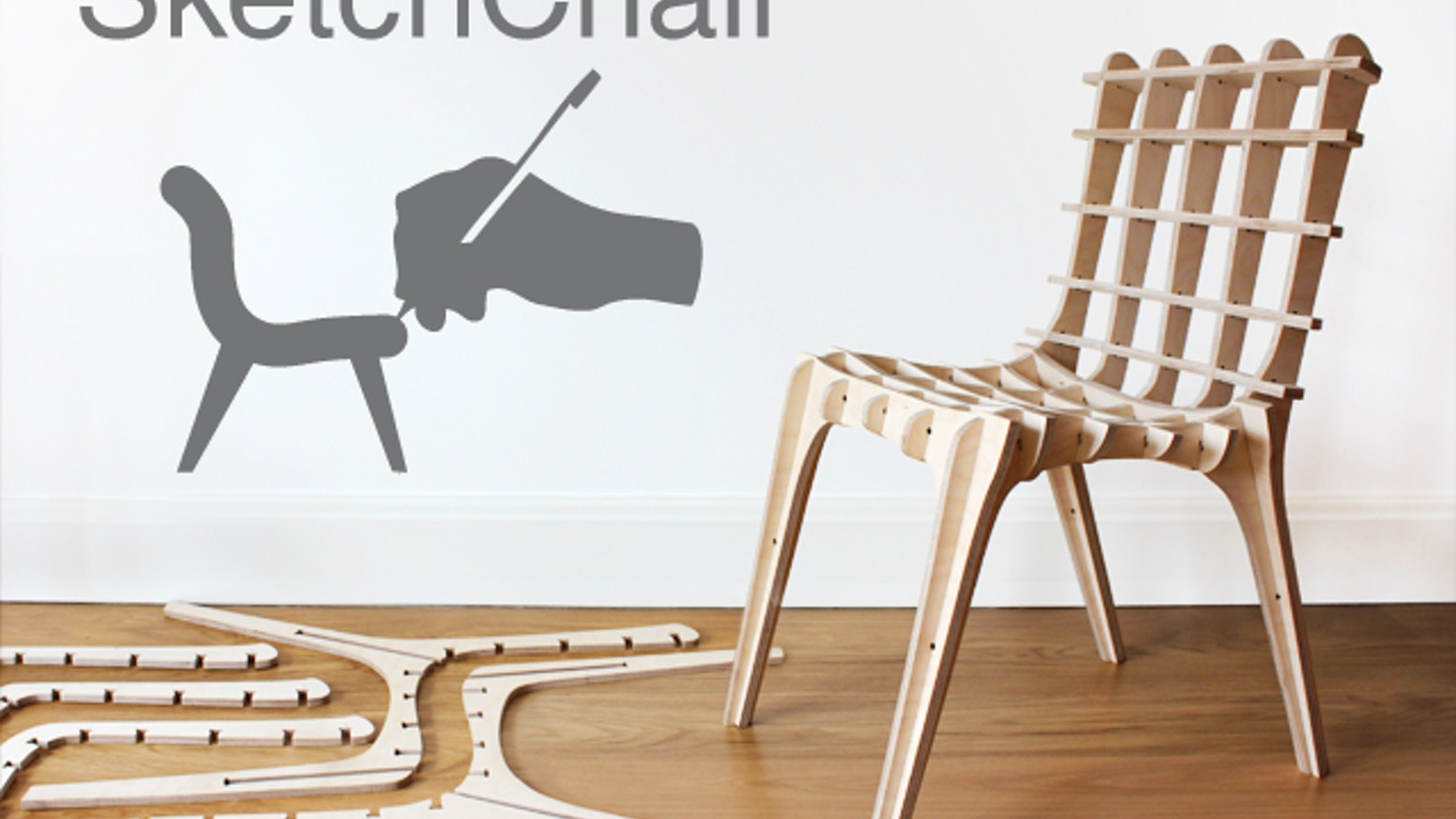 Sketchchair furniture designed by you by diatom kickstarter for Design your own furniture online free