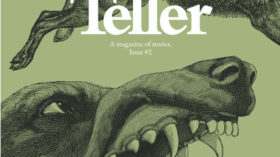 Teller: a magazine of stories project video thumbnail