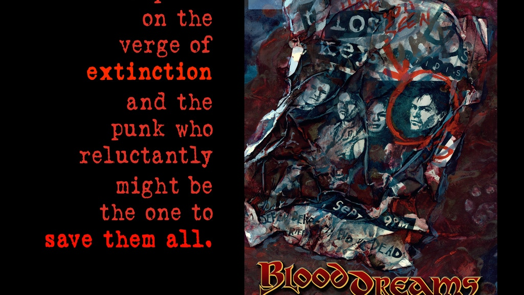 BloodDreams project video thumbnail