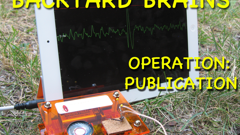 Backyard Brains: Operation Publication project video thumbnail