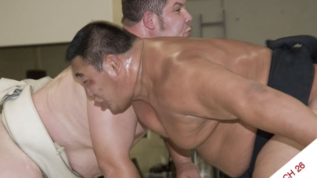 Sumo Wrestling on Clay- A Performance & Sculptural Painting project video thumbnail