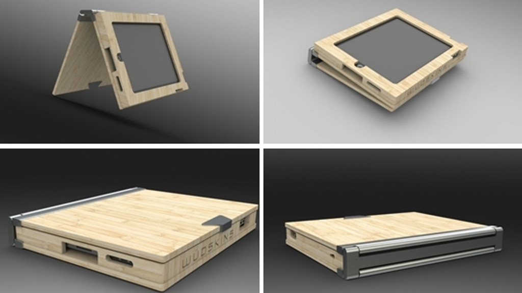 Wüdskins- Protective Bamboo & Aluminum iPad Case project video thumbnail