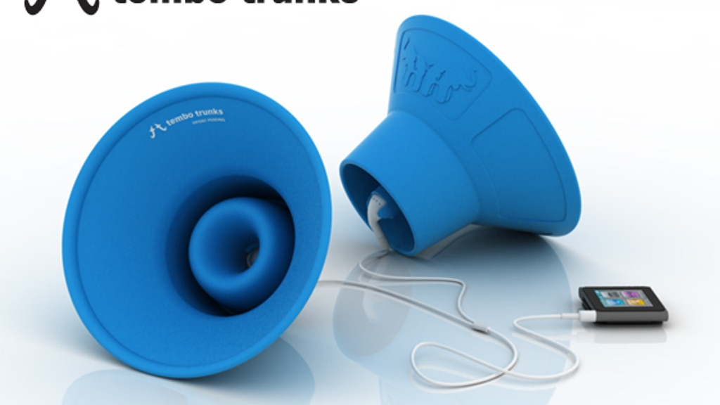 Tembo Trunks - Earbud Speakers project video thumbnail