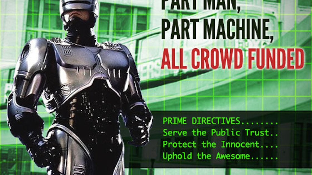 Detroit Needs A Statue of Robocop! project video thumbnail