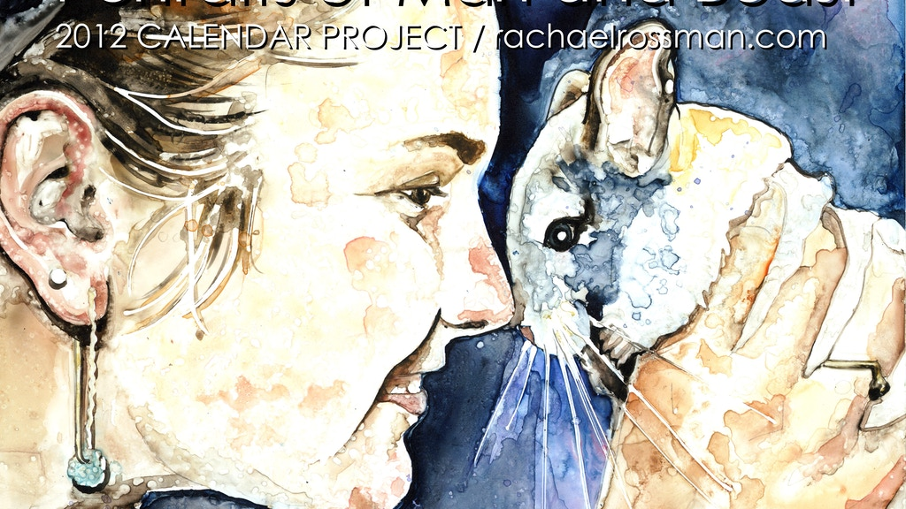 2012 Calendar Project : Portraits of Man and Beast project video thumbnail