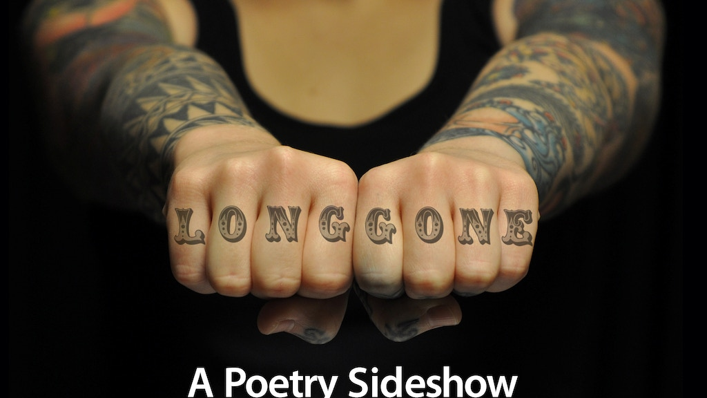 LONG GONE: A Poetry Sideshow project video thumbnail