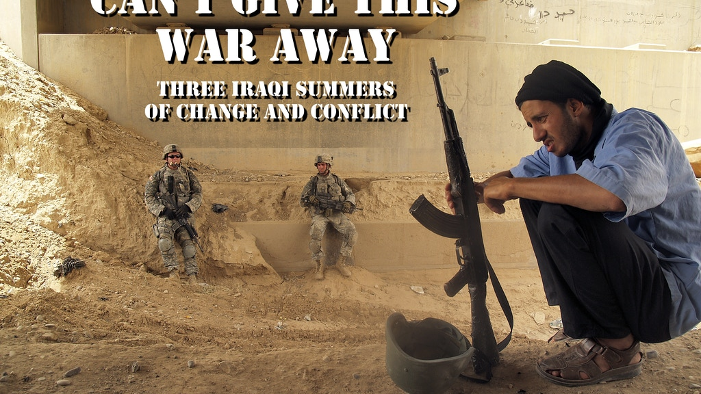 Can't Give This War Away:  Photojournalism from Iraq project video thumbnail