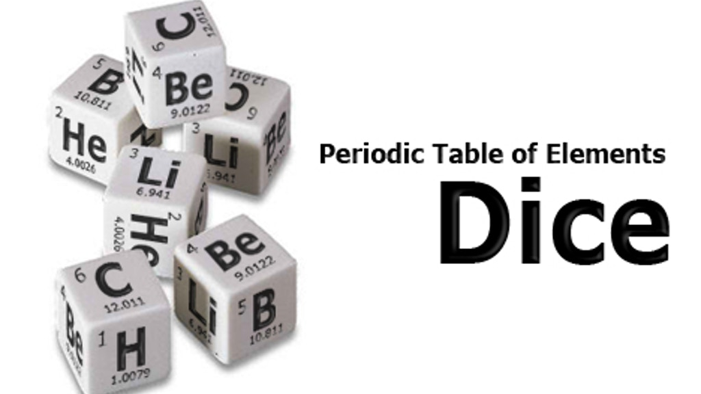 PeriodicTable of Elements Dice project video thumbnail