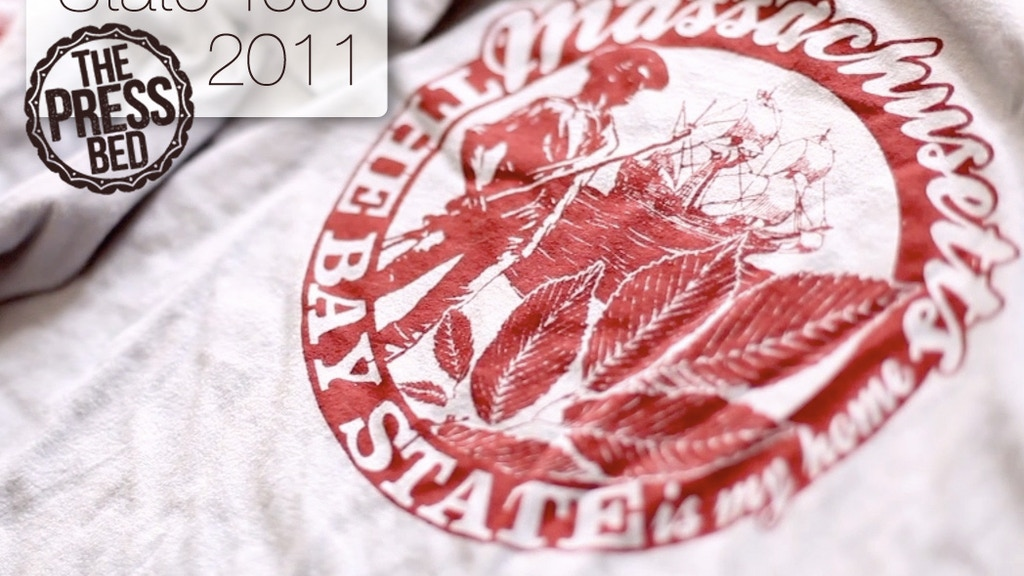 The Press Bed: State Tees 2011 project video thumbnail