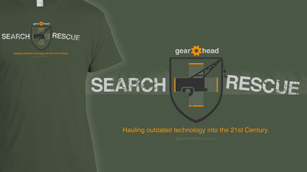 Project image for Gearhead Search and Rescue Shirt
