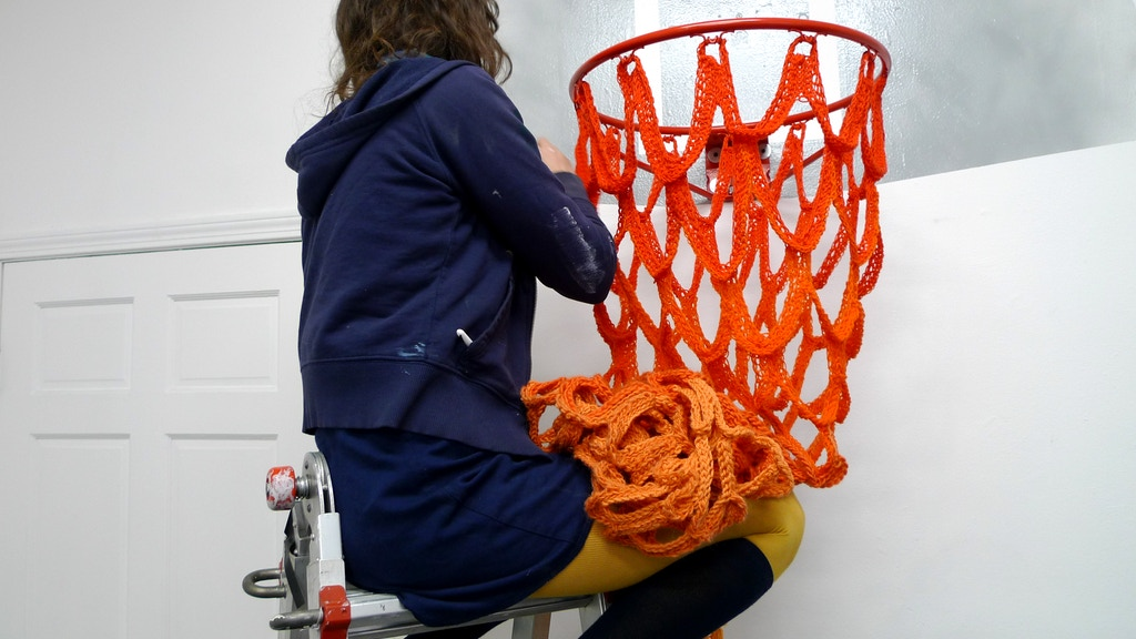 Project image for MOLTENi NET WORKS: crochet basketball nets collaboratively
