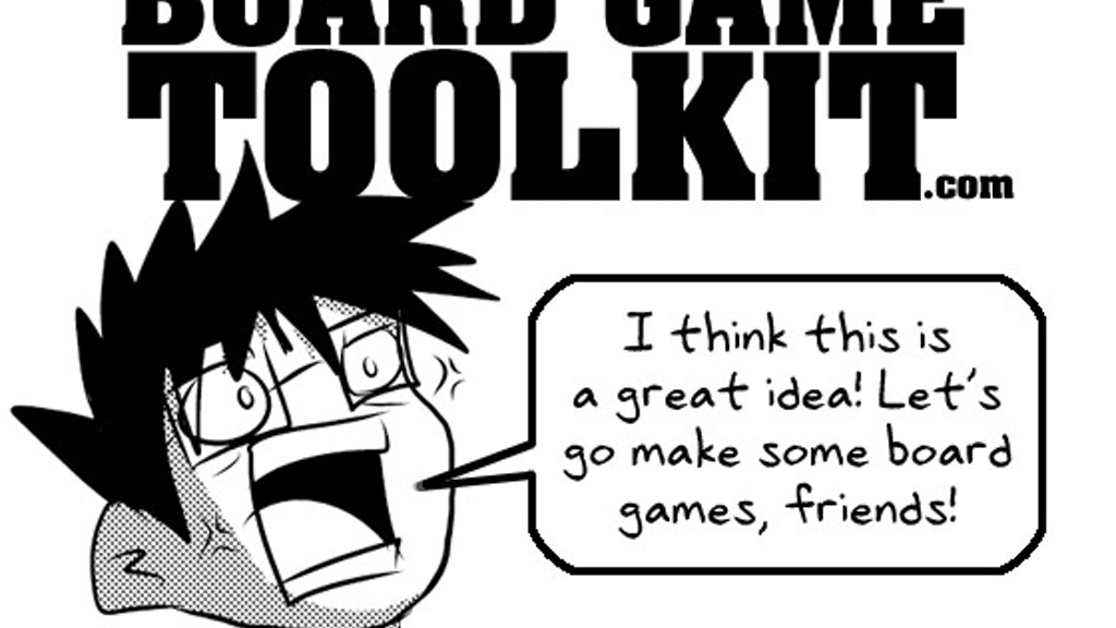 Project image for Board Game Toolkit - The Best Game is the One You Make