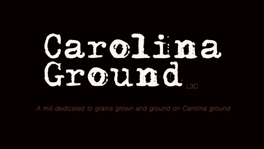 Carolina Ground: farmer + miller + baker = NC grown bread project video thumbnail