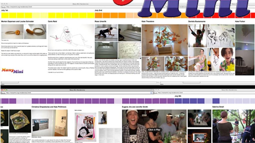 Many Mini Residency: Houston project video thumbnail
