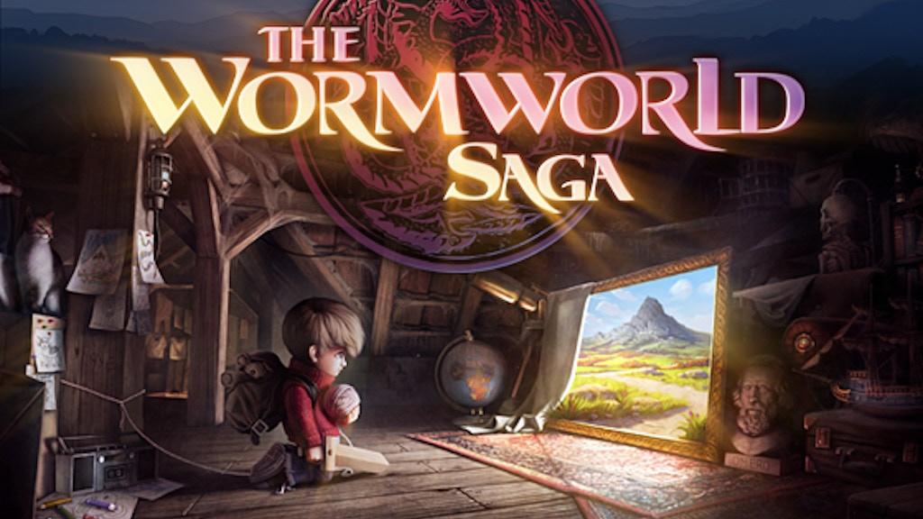 The Wormworld Saga App project video thumbnail