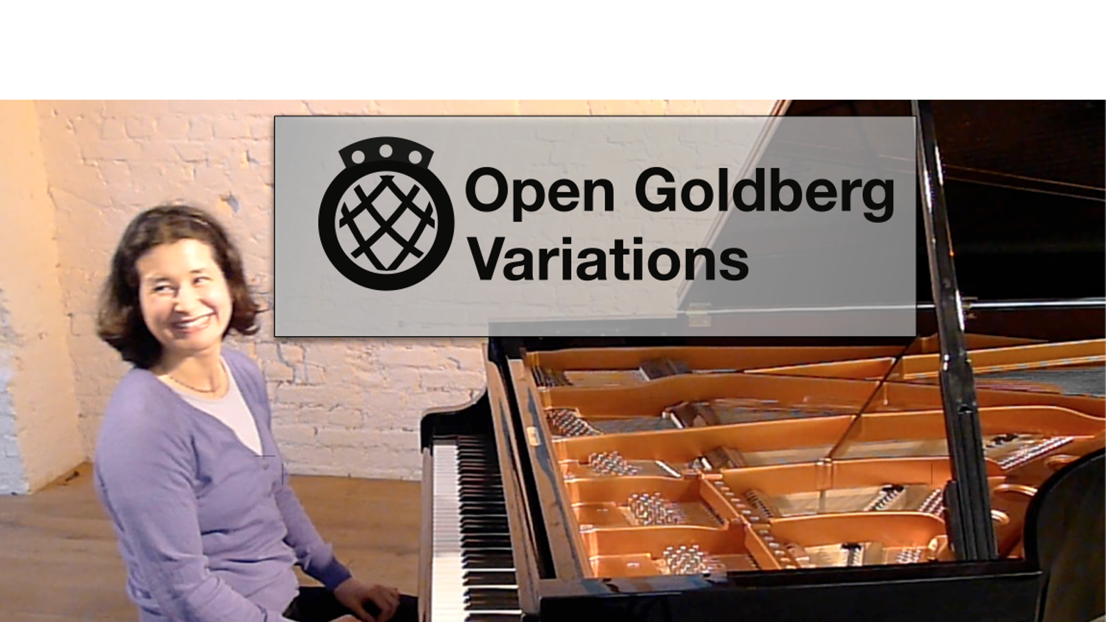 A new public domain score and studio recording of Bach's Goldberg Variations - set the Goldbergs free!