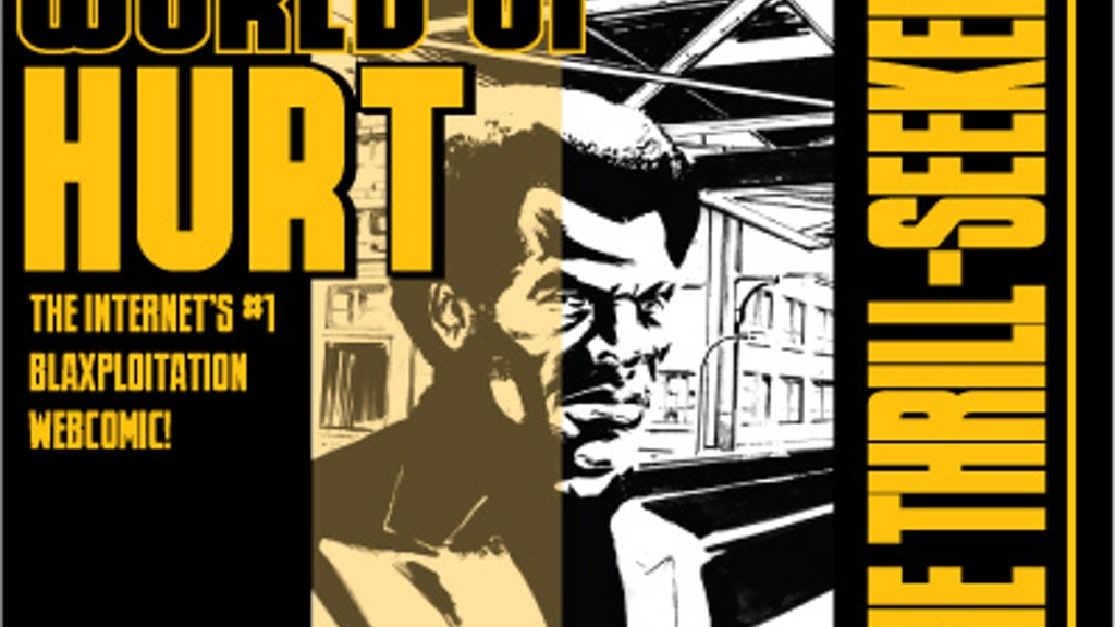 "WORLD OF HURT: ""The Thrill-Seekers"" Graphic Novel project video thumbnail"