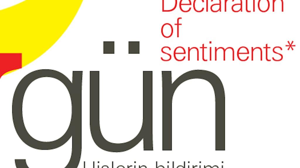 Declaration of Sentiments*/Gün project video thumbnail